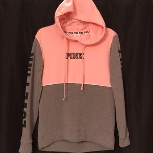 Pink Hoodie-size XS